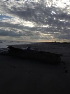 All alone on Surfside Beach